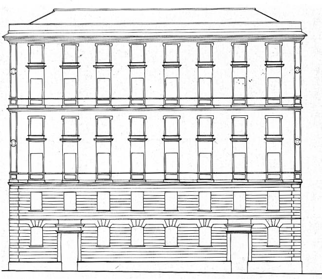 Il disegno per la decorazione architettonica dipinta beatrice giannoni fare decorazione - Finestre prospetto ...